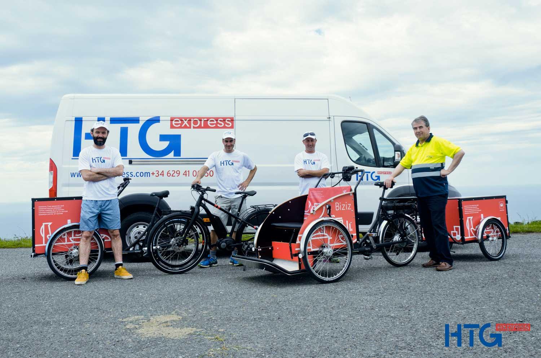 HTG Express se encarga de la logística del proyecto Biziz dentro de Donostia 2016.
