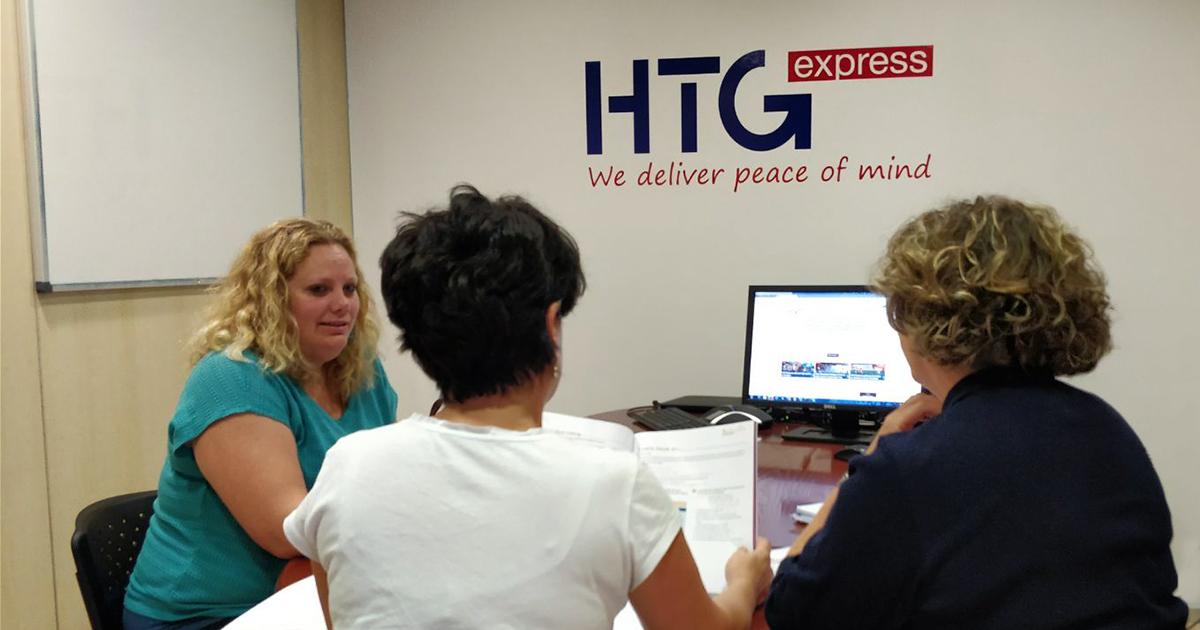 HTG Express es multilingüe